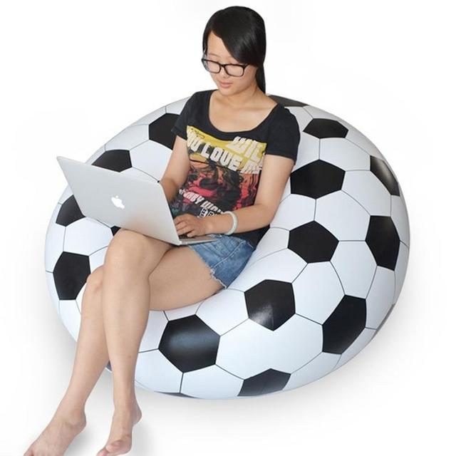 Dhl Free Ship Waterproof Pvc Inflatable Seat Chairs Instant Air Filled Bean Bag Chair