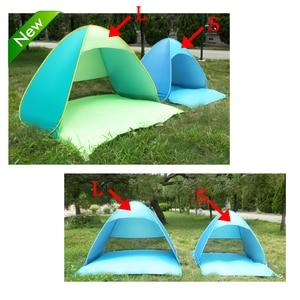 Image 5 - خيمة للشاطئ منبثقة أوتوماتيكيًا من Lixada خفيفة الوزن للحماية من الأشعة فوق البنفسجية للاستخدام الخارجي والتخييم والصيد خيمة كابانا للشمس