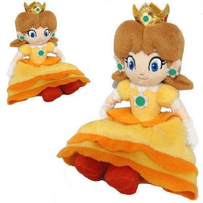 Pudcoco Super Mario Bros Series 8in Princess Daisy Stuffed Plush Toy Doll