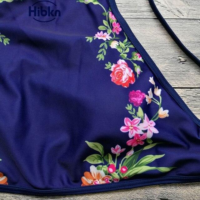 Top Hang High Neck Bikini Set 8