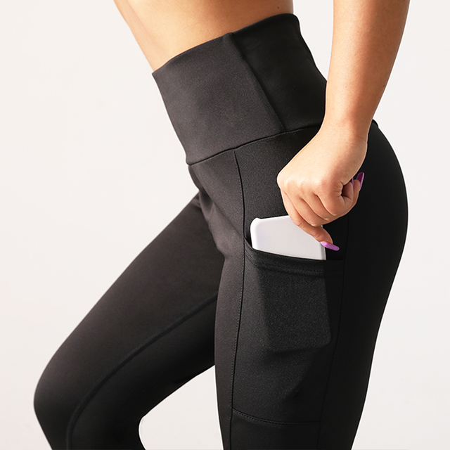 Women's Push Up Leggings with Pocket  11 colors  S-XL