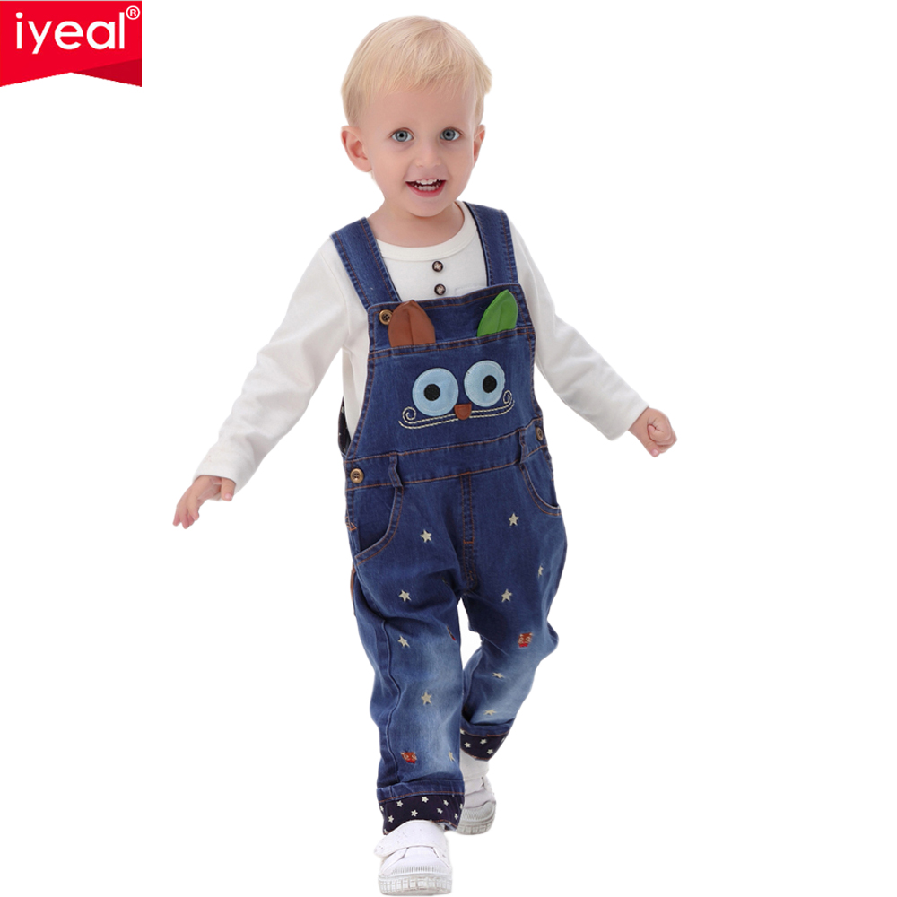 43698aea1 12M 4Years Baby Winter Overalls Fake Jeans Girls Warm Plus Velvet ...