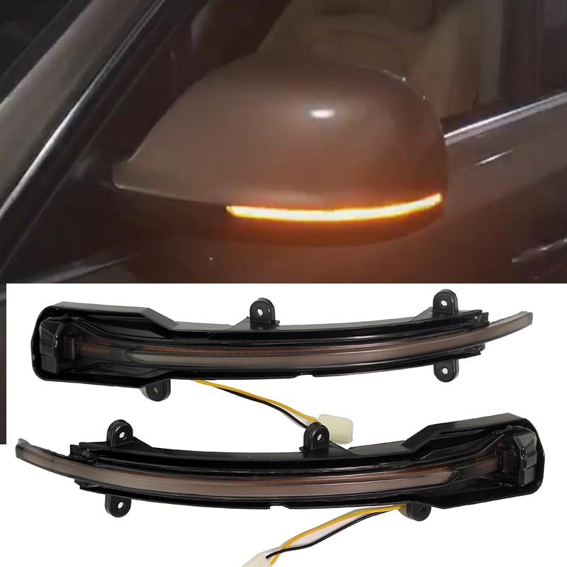 LED Side Wing Rearview Mirror Blinker Indicator Dynamic Turn Signal Light For Audi Q5 SQ5 8R 2008- 2017 Q7 Facelift 2009 - 2015 Указатель поворота