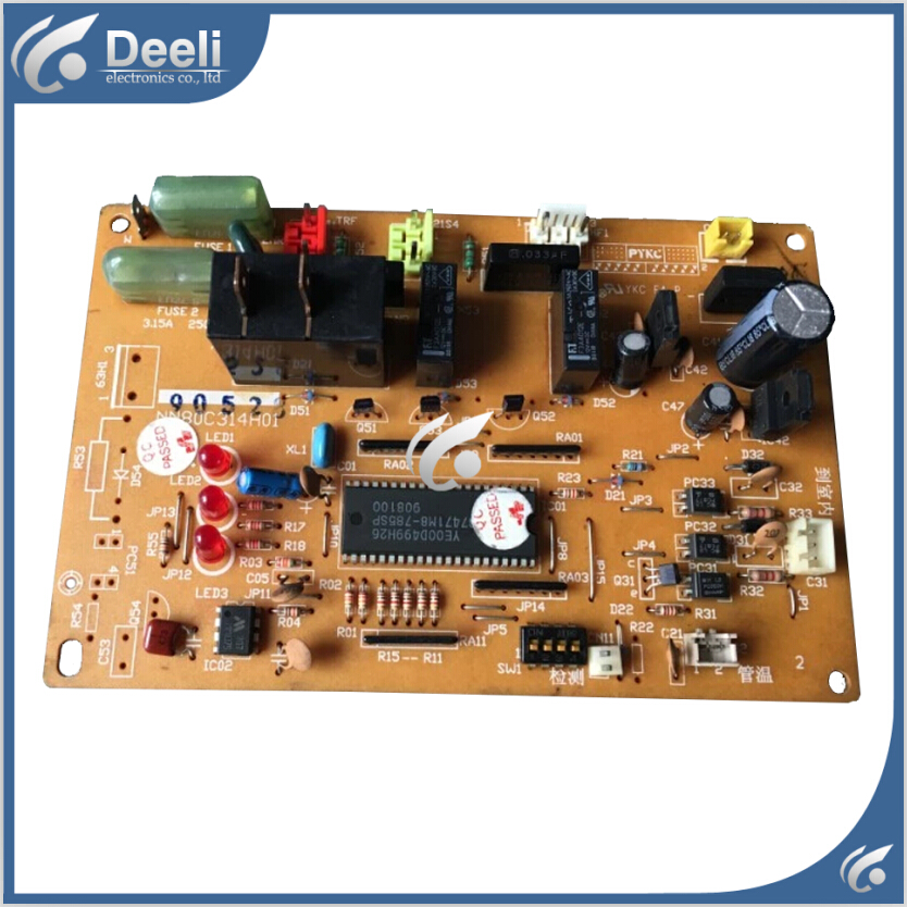95% new used for air conditioning board NN80C314H01 computer board good working air conditioning computer board juk7 820 197 ver1 0 12 25 2002 used disassemble