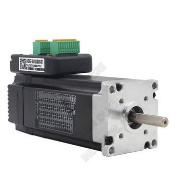 180W NEMA23 Integrated Servo 3000RPM 0.6Nm DC 36V 57mm 3PH DSP Hybrid Closed Loop 57 Motor Driver Encoder for CNC AGV Sprayer