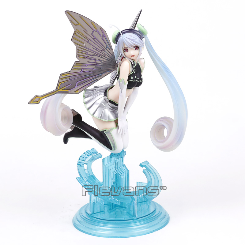 4-Leaves Tony's Heroine Collection Dennou Yousei Aion Laine 1/6 Scale Sexy PVC Pre-Painted Figure Model Toy 28cm