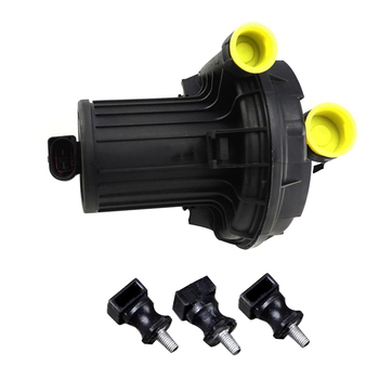 TUKE OEM pomocnicze Smog pompa powietrza wtórnego + kauczuk wsparcie wlać VW Passat B5 Jetta Golf Bora A4 A6 A8 1.8 T 06A 959 253B