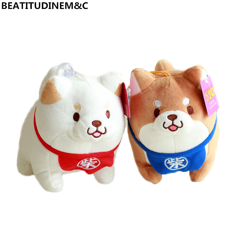 Cartoon Shiba Inu Dog Plush Toy Children Toy Car Decoration