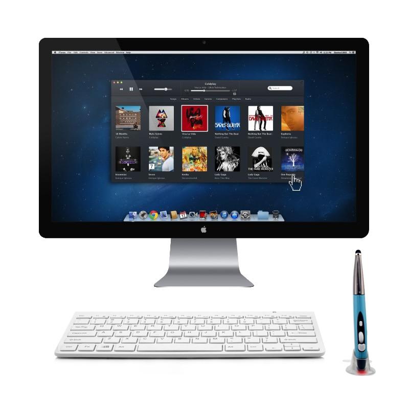 2.4G անլար Touch գրիչ մկնիկի ստեղնաշար Combo - Համակարգչային արտաքին սարքեր - Լուսանկար 2