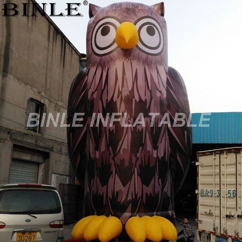 Outdoor vivid large inflatable Owl animal bird model decorative inflatable night owl for advertisingOutdoor vivid large inflatable Owl animal bird model decorative inflatable night owl for advertising