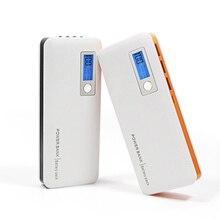 DCAE 12000 mAh LCD Banco de la Energía de Carga Rápida Cargador de Baterías Externas Portátil para el iphone para el ipod touch para smartphone