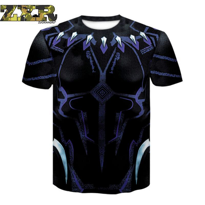 Zuoxiangru T-shirt Lauf Männer Fitness Gym T-shirts Tops Slim Fit Shirt Quick Dry 3-dimensional Digitale Druck T-shirt Sport Um Jeden Preis