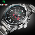 Luxury Brand Weide Men Full Steel Watches Men's Quartz Led Digital Clock Military Watch Man Sports Wristwatch Relogio Masculino