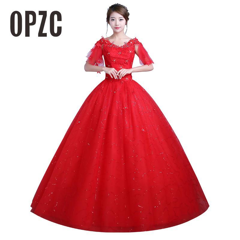 Spring Summer 2016 New Style Red Short Sleeve Vintage V