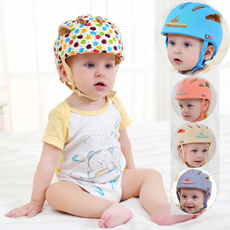 infant protective hat safety helmet for babies cotton baby summer kids sun hats girl muts children boys caps bonnet baseball cap casquette polo hats for men black baseball caps golf hats outdoor gorras hip hop bone casual cotton sun dad hat snapback