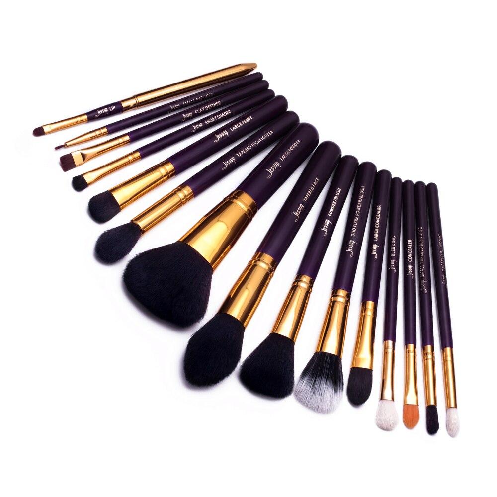 Image 3 - Набор кистей для макияжа Jessup, 15 профессиональных кистей для макияжа, косметическая пудра, подводка для глазАппликатор теней для век   -