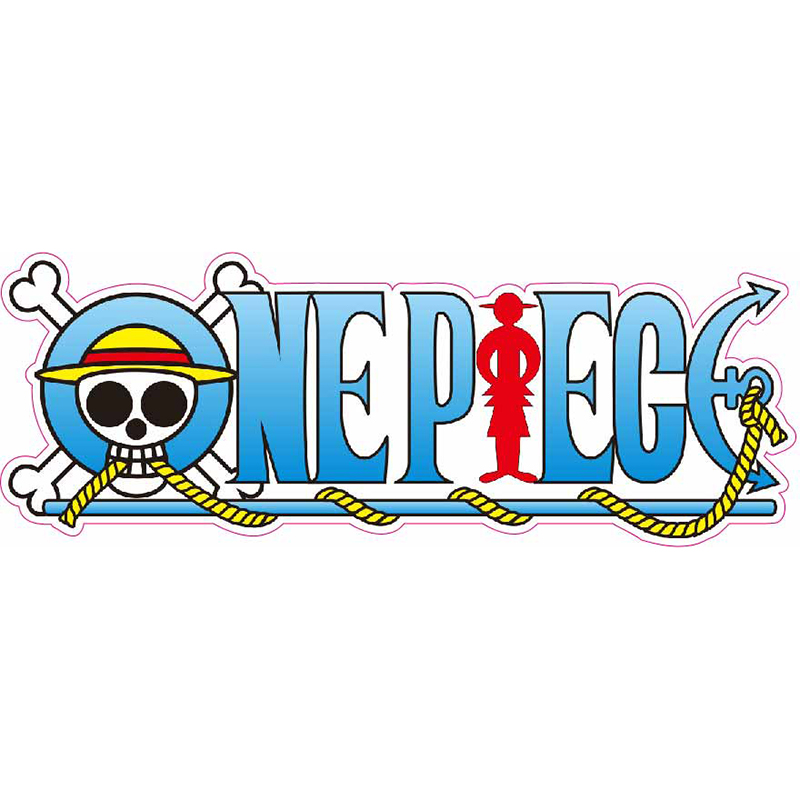 One Piece - Fixed Gear/Luggage/Guitar/Motor/Cars/Refrigerator Stickers Reusable Waterproof ONEPIECE Sticker