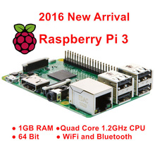 Raspberry Pi 3 Model B 1GB RAM Quad Core 1.2G 64 Bit CPU Bluetooth WiFi on board