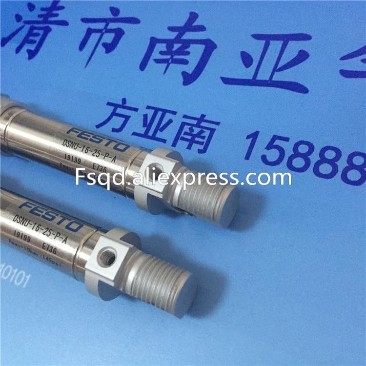 DSNU-16-10-P-A DSNU-16-25-P-A DSNU-16-50-P-A   FESTO round cylinders mini cylinder
