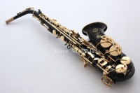 French Selmer Superaction 80 Serie 52JBL Black Gold Alto Eb Saxophone Straight B Flat Saxe Musical