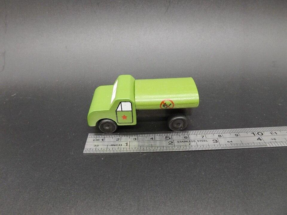Mini öltankwagen militärfahrzeug holz auto pädagogisches toys kinder ...