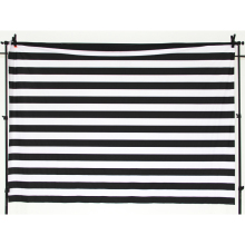Photo Background Birthday Party Backdrop Deco Table Cloth white and black stripes Banner backdrops
