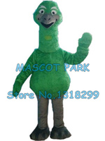 green ostrich mascot costume brown bunny custom adult size cartoon character cosply carnival costume 3256