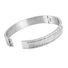 TB-34 alta calidad al por mayor de acero inoxidable pulsera Shinning mujeres danza reina regalo pulsera joyería de moda