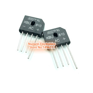10PCS 8A 1000V diode bridge rectifier kbu810