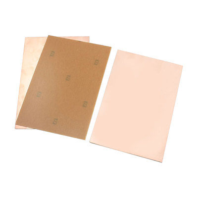 3Pcs Single Side Copper Foil Coated Printed Circuit Board 15cmx10cm Thickness 2mm