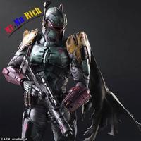 Star War Imperial Stormtrooper Darth Vader Cacciatore Di Taglie Boba Fett 26 Cm Pvc Action Figure Doll Giocattoli Per Bambini