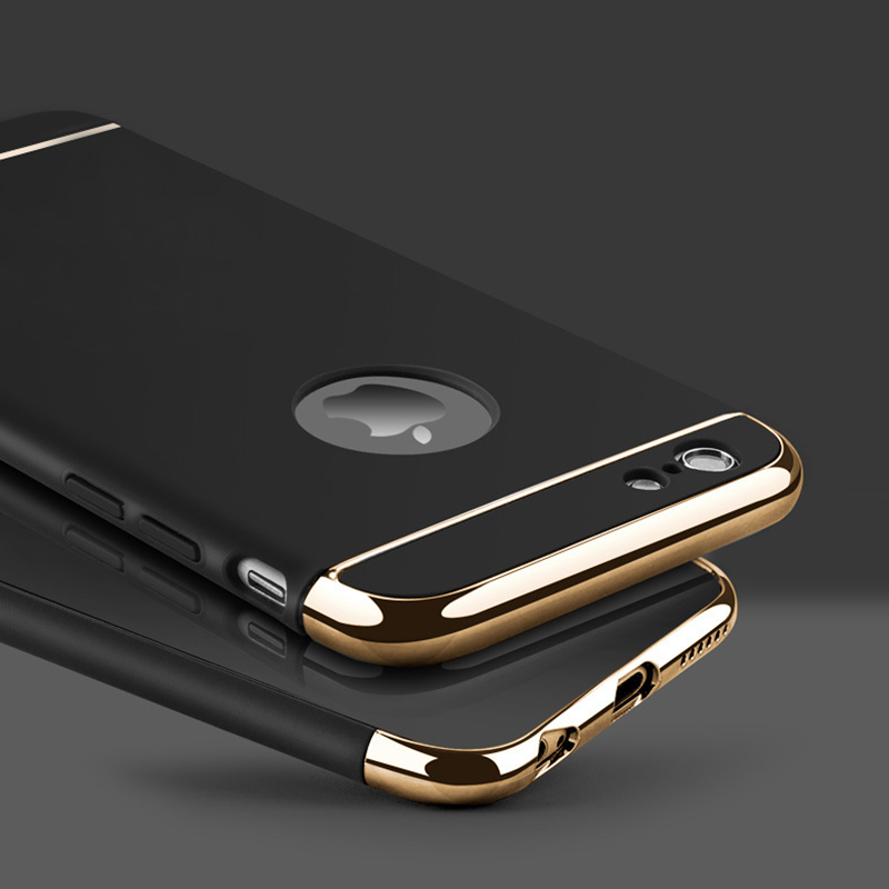 3 in 1 Luxury Hard Case Cover For All IPhone Model 2