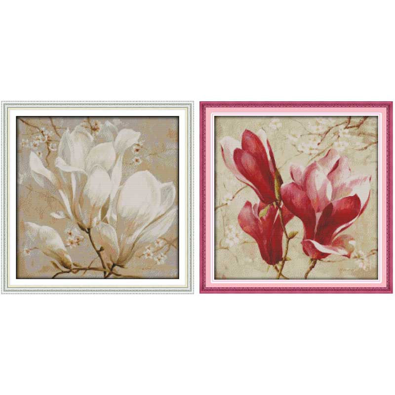 Arts,crafts & Sewing Golden Calla Flower Dmc Cross Stitch Diy Needlework 14ct11ct Counted China Cross Stitch Kits For Embroidery Chinese Cross-stitch Strong Packing