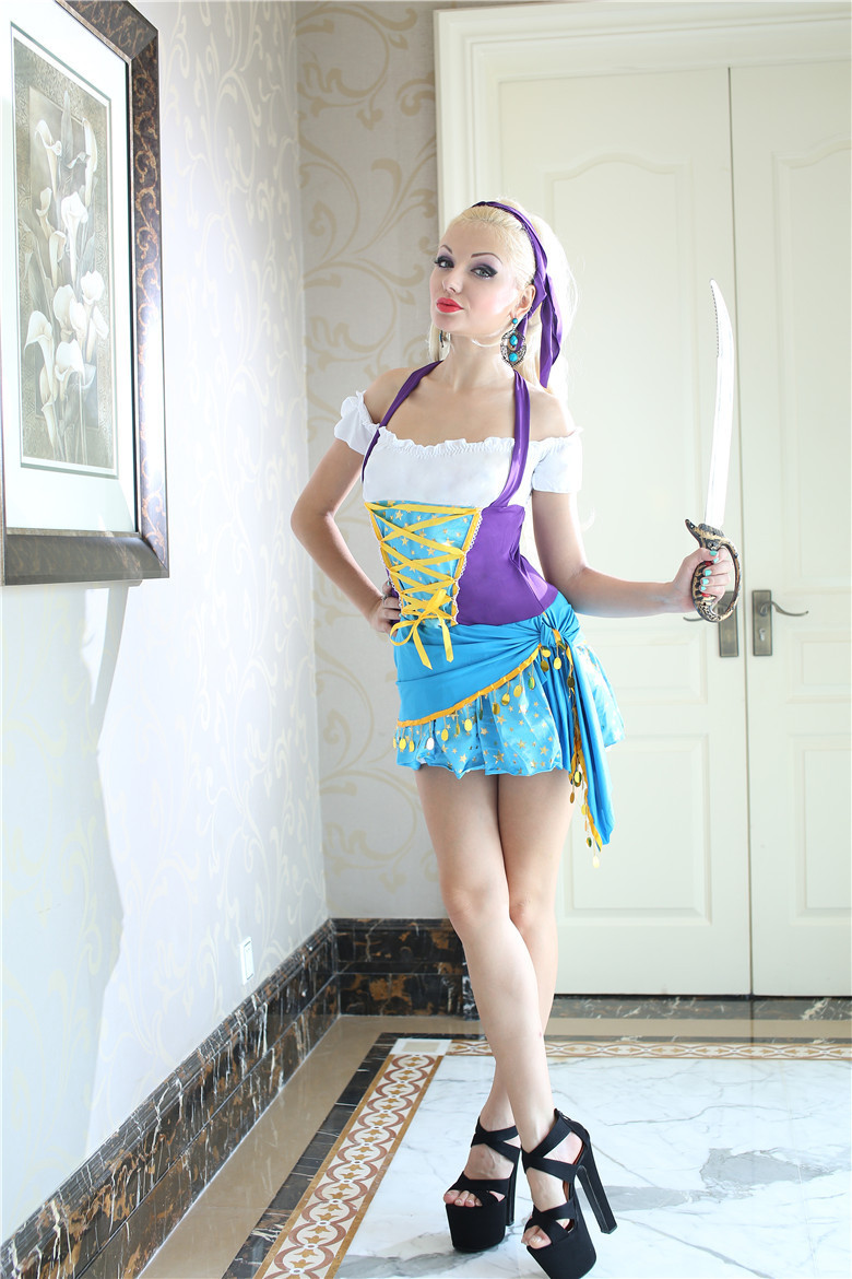 aliexpresscom buy m xl free shipping sexy pirate costumes gypsy cosplay womens halloween costumes exotic apparel game uniforms from reliable costume kid - Teenage Girl Pirate Halloween Costumes