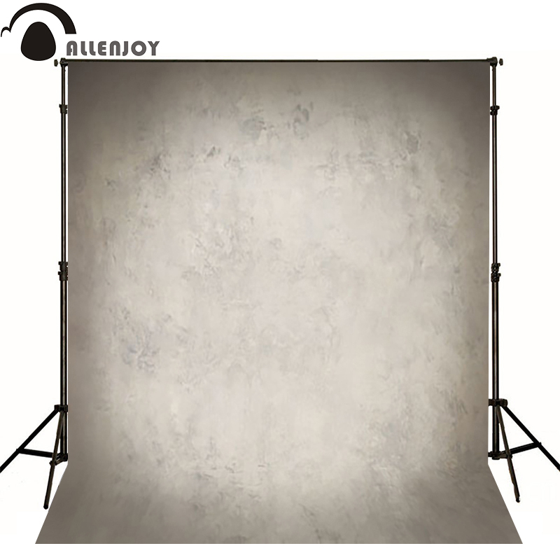 Allenjoy Thin Vinyl cloth photography Backdrop gray Children Wedding Baby Background Photo Studio Decor Backgrounds MH-034