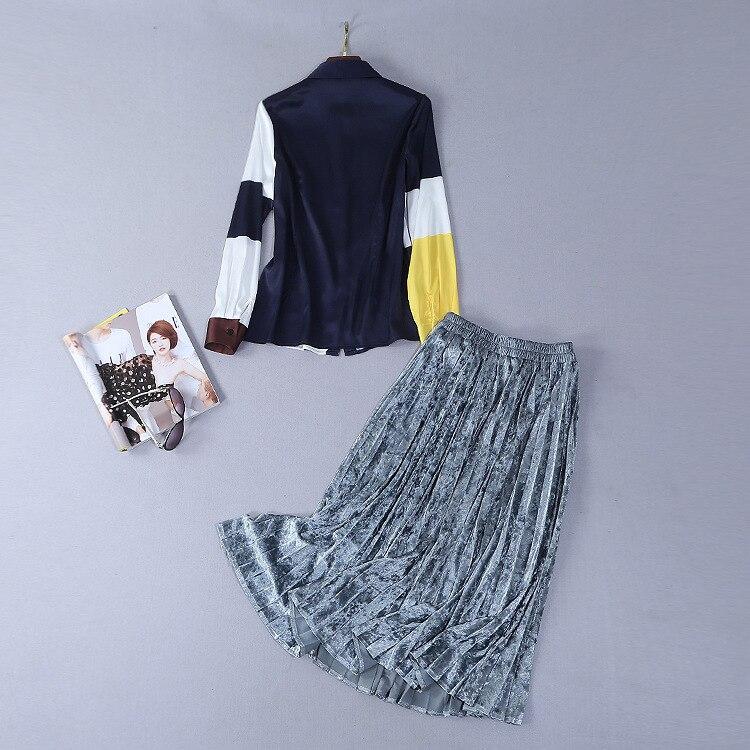 Luxe Piste Style Mode Ensembles 2019 Européenne Femmes Ws01123 De Marque Design Vêtements Partie AXfxqxa