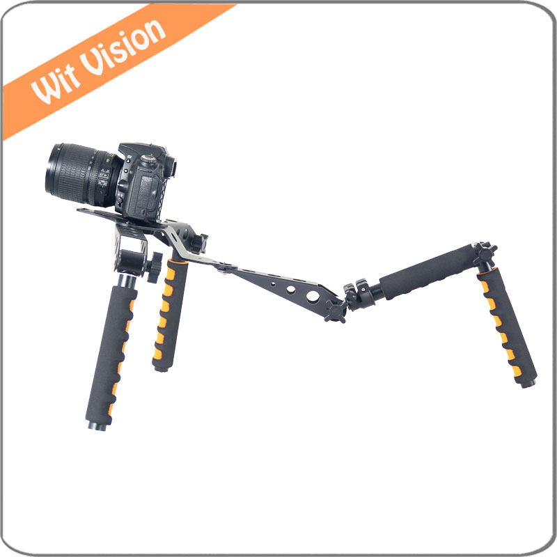 Shoulder Rig Set for DSLR Cameras and Camcorder dslr rig double hand handgrip shoulder