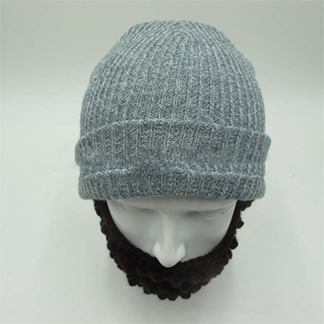 placeholder 2018 Novelty Knitted Warm Men Caps Soft Beanies Skull Winter  Hats Funny Cool Bearded Hat Touca 056611585