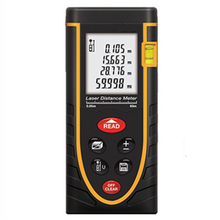 Promo offer Digital laser rangefinder Meter 40M ruler Laser Rangefinder Range Finder Laser Tape Measure Area volume Angel m inch Foot