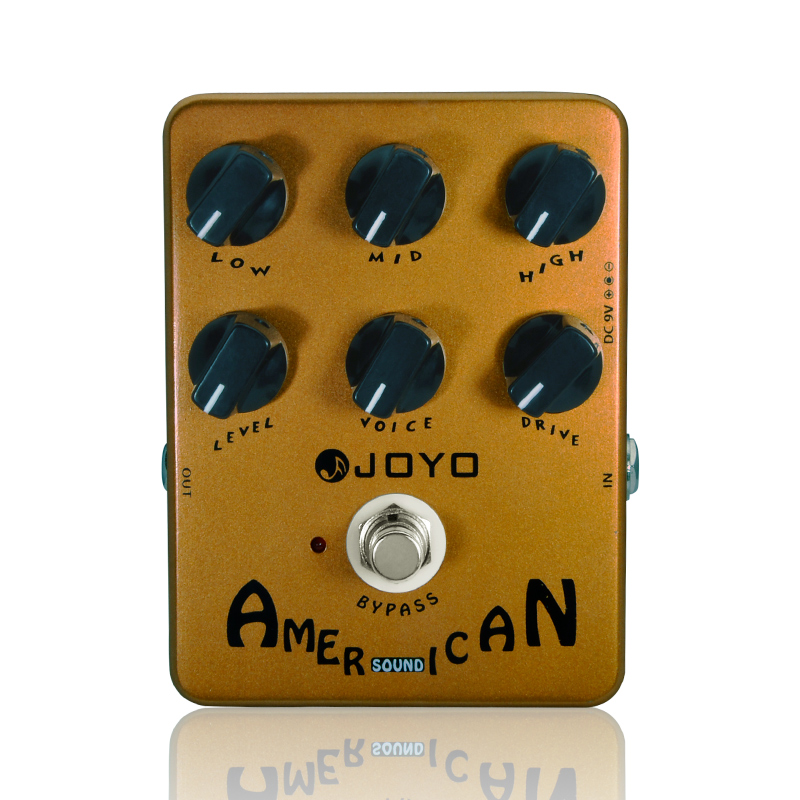 Купить с кэшбэком JOYO JF - 14 Electric Guitar Effect Pedal True Bypass Design American Sound Amp Simulator Electric Guitar Effect Pedal