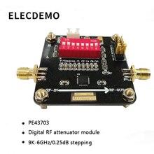PE43703 Module Digital RF attenuator module 9K~6GHz 0.25dB step to 31.75dB Function demo Board