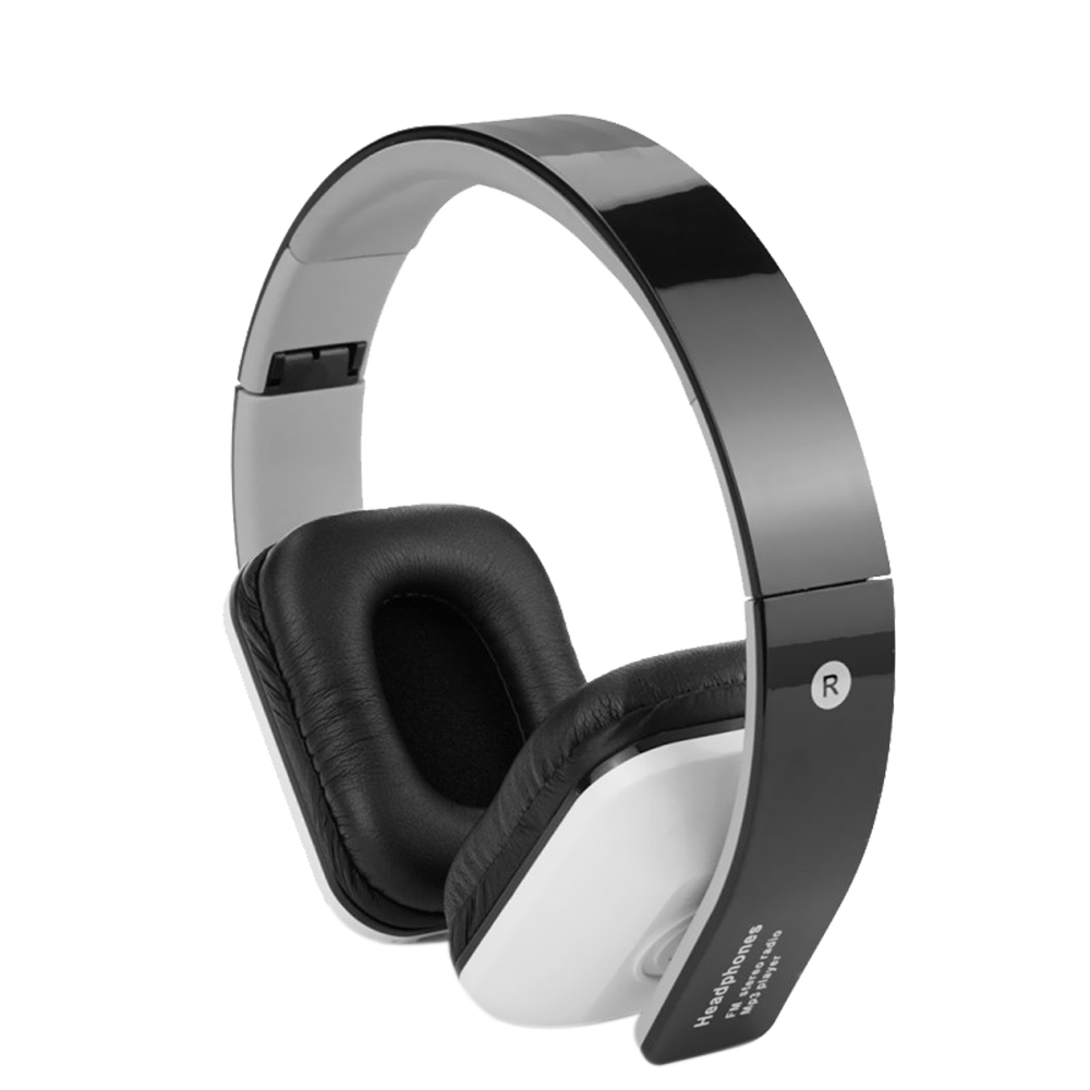 Over-Ear Foldable Wireless Bluetooth Headphone Music Stereo Earphone with Mic Headset Support TF Card FM Radio for Phones  wireless music bluetooth headset 4 mini head wear sport ear hanging ear type 4 1 universal running stereo can insert card radio