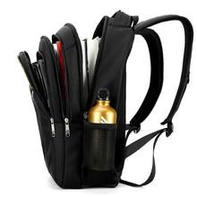 Men's Business Oxford Laptop Backpack Big school bags mochila masculina rucksack back bag backbag black Multifunction for men