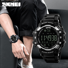 Smart Watch New men Sports Wristband SKMEI 1226 Watches Call Message Reminder pedometer Calories bluetooth waterproof watch