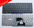 Original New 638178-001 MP-10L93US-930 6037B0056801 For ProBook 4330S 4331S 4430S 4431S US Keyboard With Gray Frame