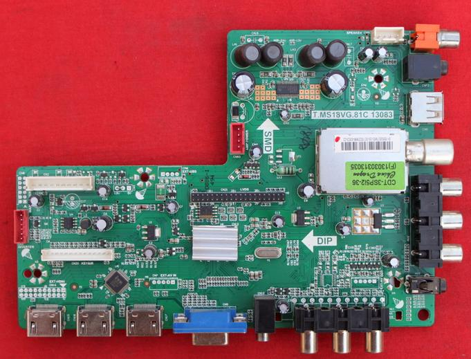 T.MS18VG.81C 13083  LOGIC main board for  LED-50B760  screen T500HVN04.1 NO CABLE no 81