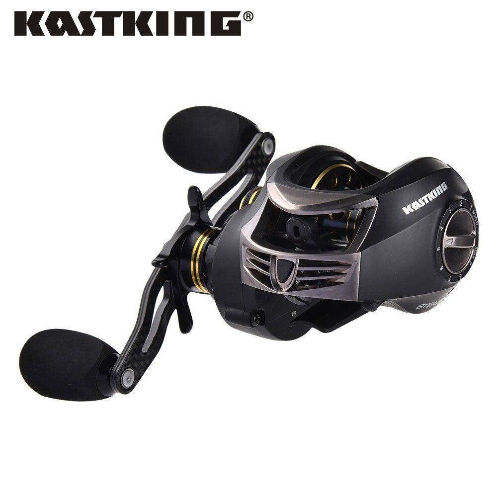 Rapport de vitesse furtif KastKing 7.0: 1 11 + 1 bobine de filature BB tout le corps en carbone moulinets de roulette moulinet d'eau douce pêche en mer double frein