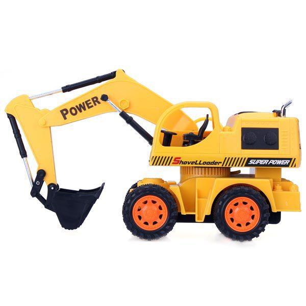 5CH RC Engineering Car Remote Control Excavator Toy Car toy for kids детский вертолет на радиоуправление new brand 2 5ch i r rc 44913