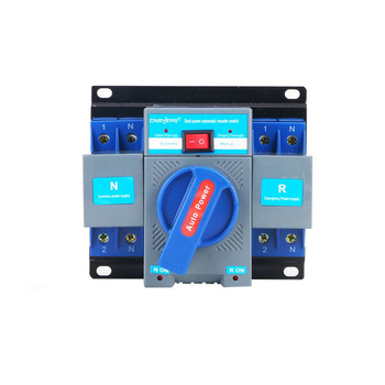 Supply Automatic transfer Change-over Mini Type Both Power Switch Device OEM Expert circuit breaker 63A 2P
