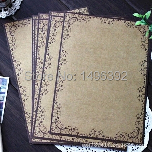 (6 Lots/pack) European Style Vintage Lace Writing Paper Creative Culture Stationery Letter Paper